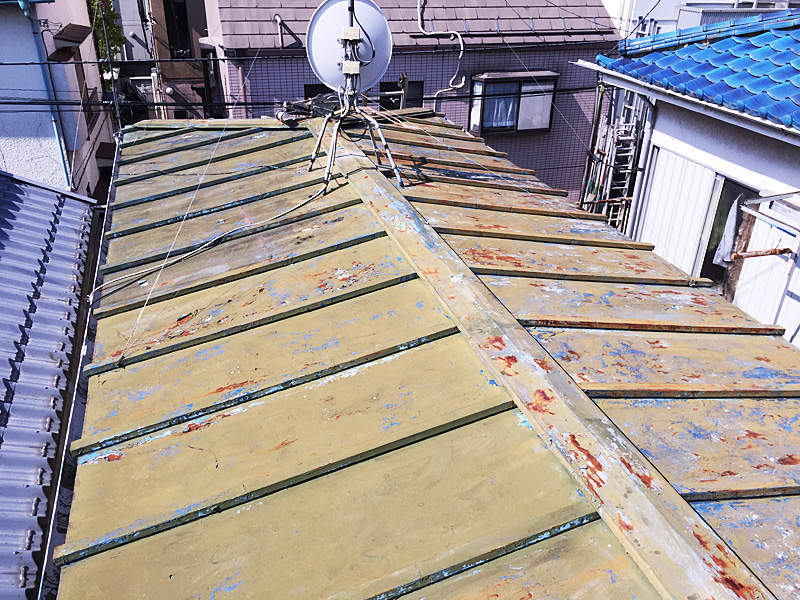 屋根 葺き替え 工事